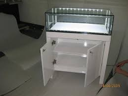 manufacture jewellery display showcase with led lighting for jewelry 5