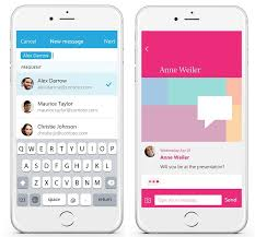 sending text message from email microsoft introduces send ios app for quick in and out email