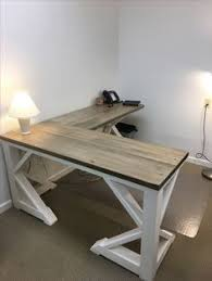Best Rustic Farmhouse Desk Made To Order for sale - Custom rustic farm  house style desk made to order with various styles/paint and stains.