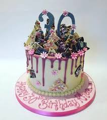 30th Birthday Drip Cake Picture Of Enjoy Cakes Cafe