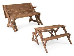 mesmerizing picnic table chairs 14 fabulous folding wood with wooden fold up outdoor patio tables ideas