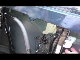 replacing drivers side front power window regulator 08 dodge avenger