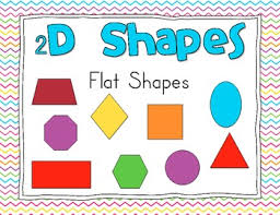 2d Shapes Anchor Chart 2d And 3d Shape Anchor Charts