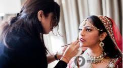 bridal makeup texture