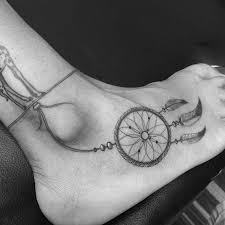 Cool Dream Catcher Tattoos Cool Dreamcatcher Tattoo On Right Ankle 34