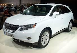 The new Hybrid SUV by Toyota Lexus   Auto Types