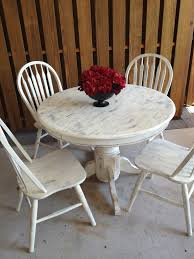Shabby Dining Table And Chairs - nurani.org