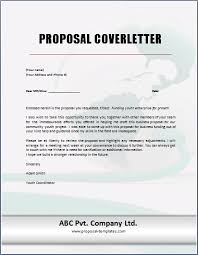 Proposal Cover Sheet Template Sample Cover Letter For Proposal Scrumps