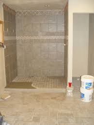 tile man used mastic glue on entrance to shower-shower-floor-crap- ...