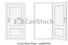closed door drawing. Contemporary Door Closed Door Drawing Clipart Vectoriel Getty Images Throughout L