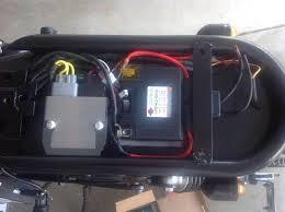 cb450sc nighthawk tracker build