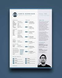 One Page Resume Templates Modern 013 Free One Page Resume Template Download Ideas Templates