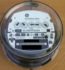 electric meter ebay ge kv2c meter how to read at Ge Kilowatt Hour Meter Wiring Diagram