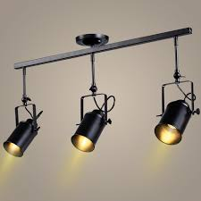 vintage track lighting. Retro Loft Vintage LED Track Light Industrial Ceiling Lamp Vintage Track Lighting I