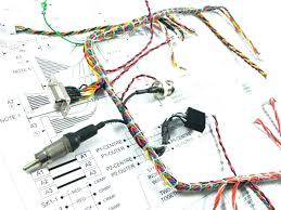 aircraft wiring harness drawing aerospace manufacturers harnesses aircraft wire harness protection at Wire Harness Aircraft