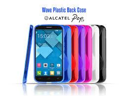 Alcatel Pop C9 Wave Plastic Back Case