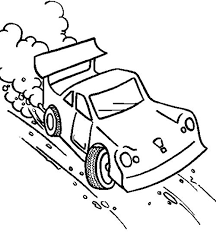 Small Picture 69 best Race Car images on Pinterest Racing Coloring pages and