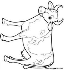 Small Picture Cow Coloring Page Coloring Pages Farm Animals coloring page for