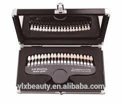 Teeth Whitening Shade Guide Comparison Sample Colour Chart Dental Bleaching Buy Teeth Whitening Shade Guide Shade Guide Comparison Shade Guide