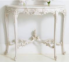 french console tables. Provencal White Console Table French Style Tables C