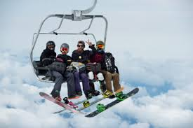 How to Ride the Chairlift on a Snowboard Neverbored