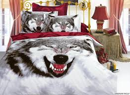 wolf comforter set wolf pack 4 piece queen comforter bedding set
