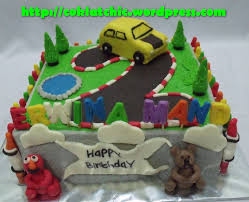 Pin Baby Elmo 1st Birthday Cake A Made Of Rice Krispie Treat On