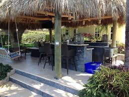 Tropical Outdoor Kitchen Designs Custom Ideas