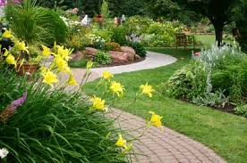 Small Picture Perennial Garden Layout