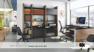 semblance office modular system desk. Semblance® Modular System From BDI Semblance Office Desk