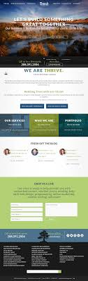 Thrive Web Design Thrive Web Designs Competitors Revenue And Employees
