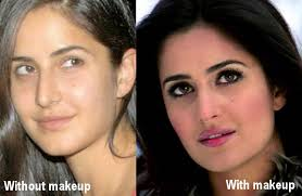 katrina kaif with and without makeup 15 celebrities from bollywood without makeup
