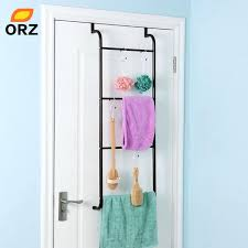 over the door towel holder umbra bungee rack cabinet mounted paper