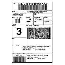 Shipping & Packaging Labels - Sticky Labels