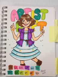 Artist Loft Sketch Markers Color Chart Nattosoup Studio Art And Process Blog Alcohol Based Marker