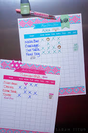 Make A Chore List Creating A Chore Chart That Is Right For You Sarah Titus