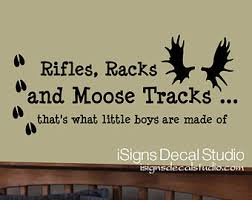 Moose wall Decal Moose Name Decal Moose by iSignsDecalStudio via Relatably.com