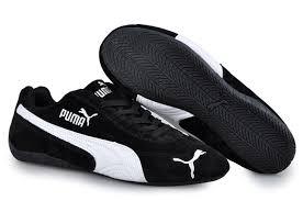 puma shoes suede black. men\u0027s puma speed cat sd trainers black/white 02 larger image shoes suede black