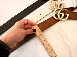 Gucci Marmont Belt Sizing And Adding Holes