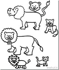 Lion Coloring Pictures Scar Lion King Coloring Page