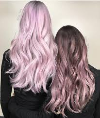 Metallic Pink Hair Color And Metallic Rose Hair Color Designs By