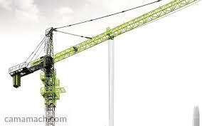 Zoomlion 50 Ton Crane Load Chart 120 Ton 103 250m Tower Crane Zoomlion