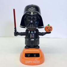 Star Wars Solar Lights Star Wars Darth Vader Solar Bobble Head Halloween Moves When