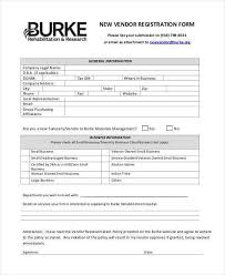 printable registration form template new customer registration form template printable registration