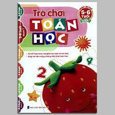 Sách - Trò Chơi Toán Học - Dành Cho Trẻ Từ 5-6 Tuổi - Quyển 1