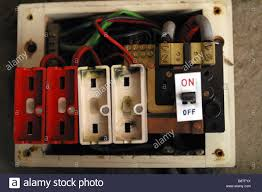 fuse box house stock photos fuse box house stock images alamy old style consumer unit electrical wire fuse box stock image