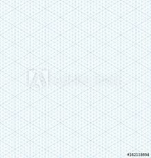 Isometric Grid Graph Paper Seamless Pattern Buy This Stock