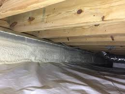 crawl space foam insulation. Interesting Foam Crawl Space Insulation  Spray Foam On Walls And Sealed Sill  Plate To