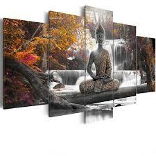 uk 5pcs canvas modern picture wall art