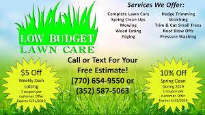 Budget Lawn Care Maintenance Corner February 2019 Secure Investments Realty